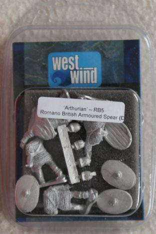 Westwind 28mm RB-05 Romano British Armoured Spearmen